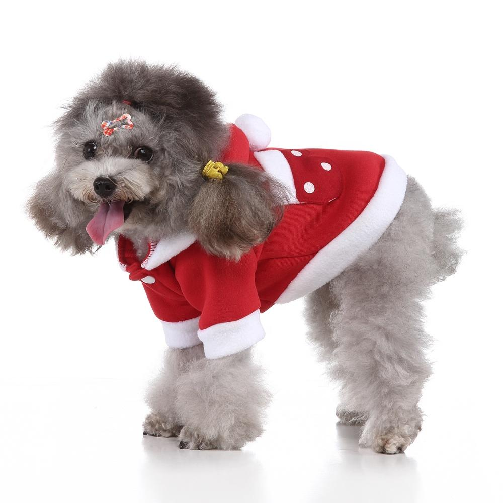 Wholesale Dog Clothes Christmas Gift Multi-colors Soft Warm Coat Winter Pet Accessories Dog Clothes for Small Dogs Puppy Clothes Dog Jacket