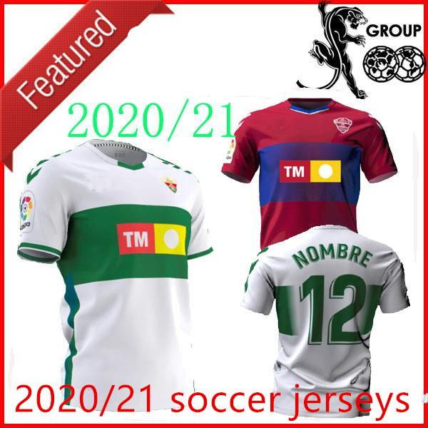 Acquista 20 21 21 Elche CF Soccer Jerseys Casa Away Rodriguez 8 Fidel 16 Calvo 12 Milla 11 Folch 4 2020 2021 Jersey Camicie Da Calcio Man Top A 10,85 ...