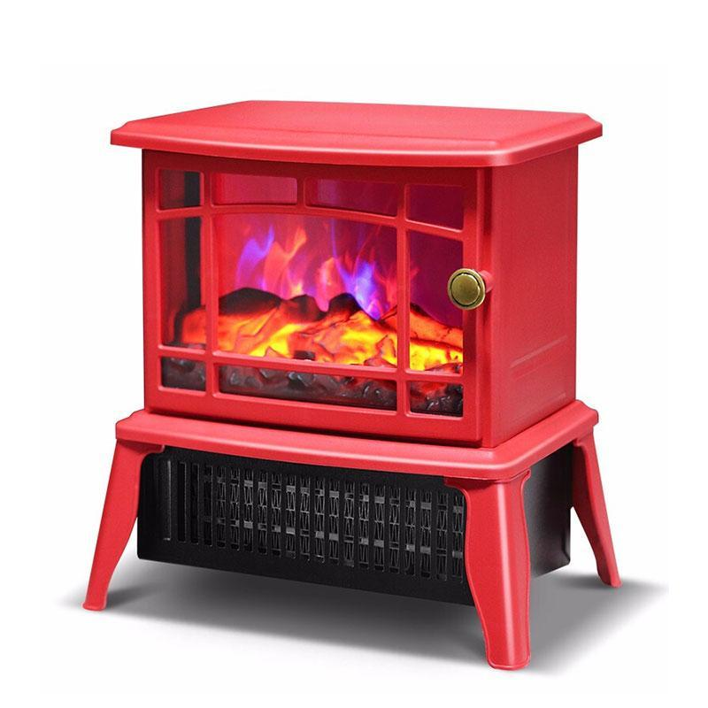 2021 Electric Fireplace 1 5kw 2kw Free Standing Electric Wood Stove Fireplace Heater With Openable Door Realistic Flame And Logs From Madai 134 97 Dhgate Com