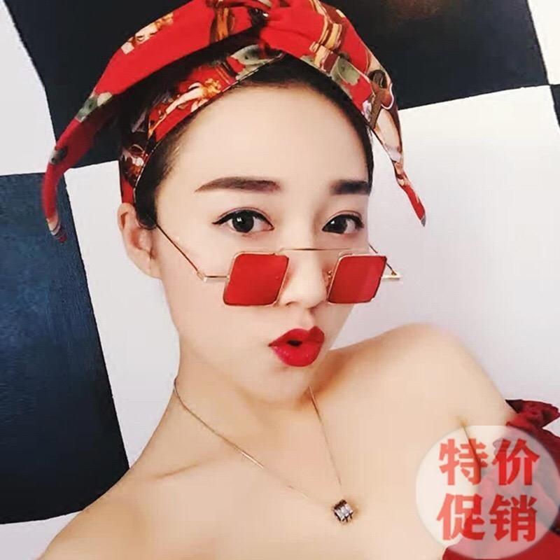 Gläser weibliches Netz rote Stil Straße schießt Persönlichkeit Dekoration gai Ye Wang Jingjing in gleichen Quadrat Sonne Augen