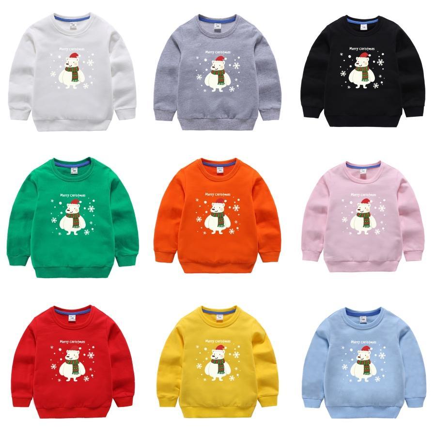 Ranberone Горячие мохер Материал Deer шаблон Рождество свитер Детский тонкий вскользь Рождество пуловер Ребенка свитера Одежда # 307