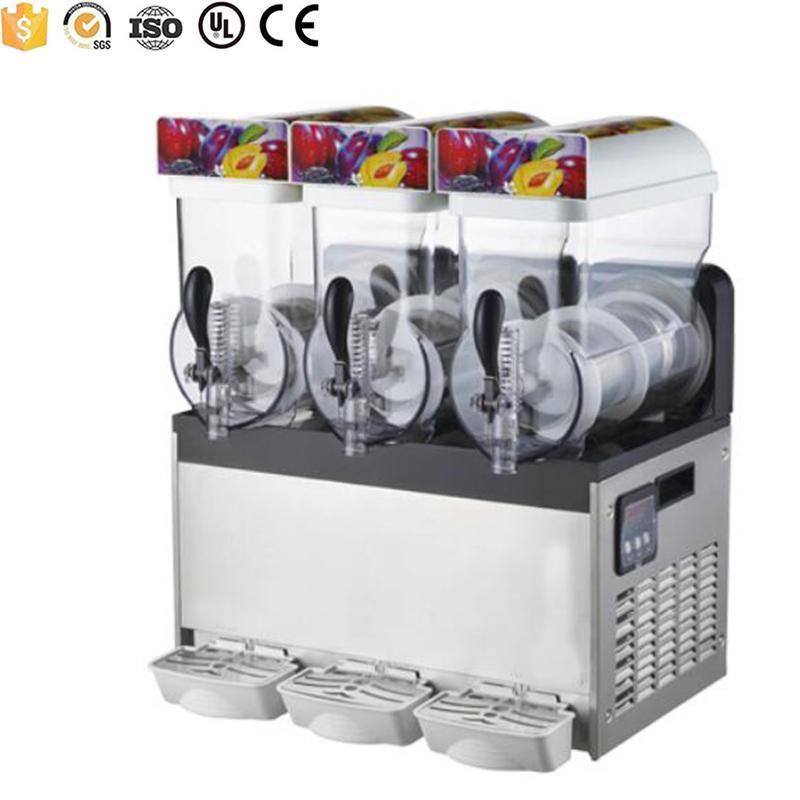 bebida congelada grande capacidade que faz a máquina lama para uso comercial e doméstico máquina de suco lama