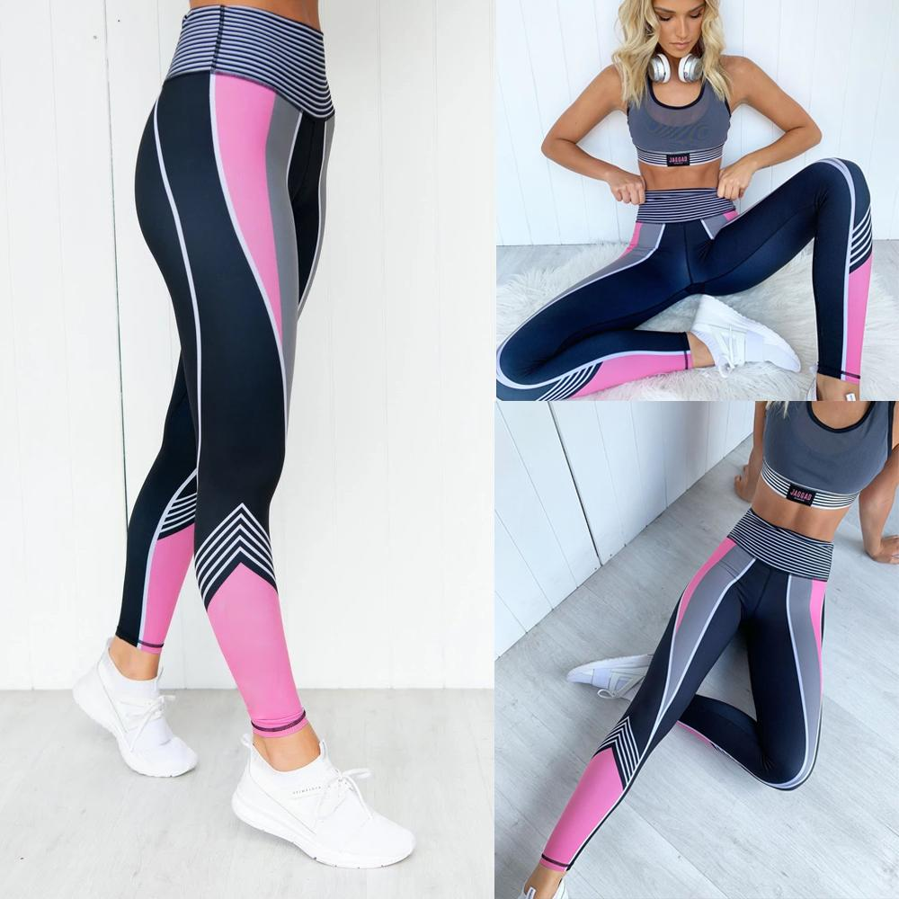 Grande forza Big Size Leggings Donne Leggings Casual Compression Fitness Ladies Workout Vita alta Leggings Lunghi Pantaloni