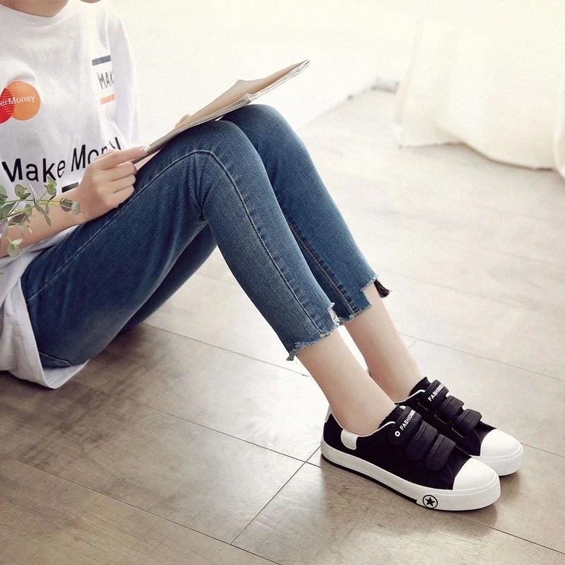Moda casual de las mujeres NUEVO NUEVO INFERIOR BLANCO BLANCO BLANCO SÓLO COLORES SÓLOW ZAPATOS LANQUES GILRS Generación de zapatillas de deporte # VZ2D