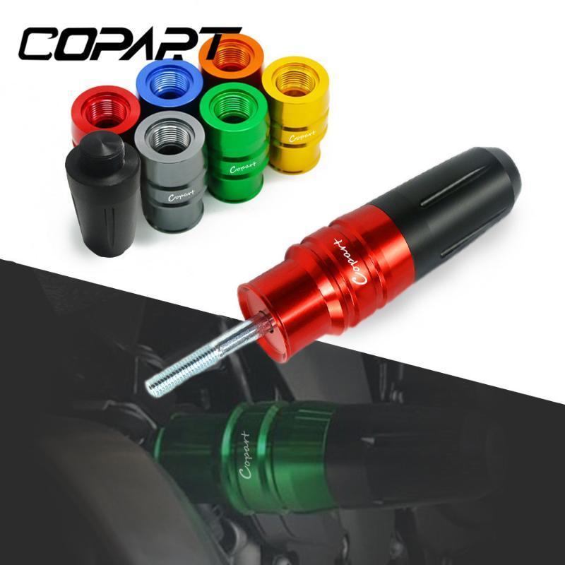 Para Kymco Downtown 350 300i XCITING 250 400 250T 300 300T Accesorios de Motocicleta Accesorios de escape Sliders Crash Pads Frame Protector