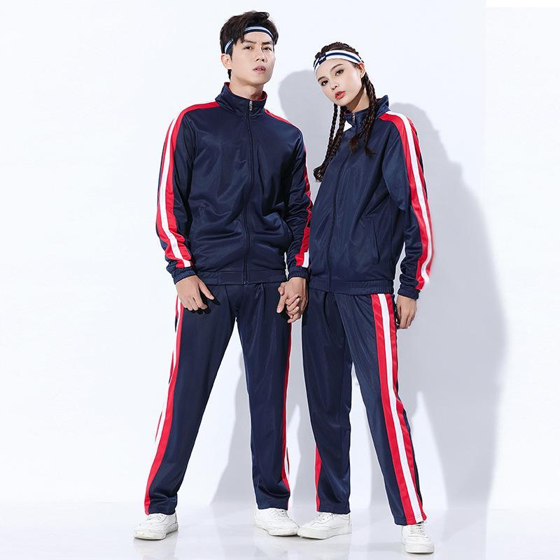 Spor Takım Elbise erkek parça set severler sonbahar ve kış artı kaşmir futbol basketbol kapsamlı eğitim takım elbise takım setleri 201207