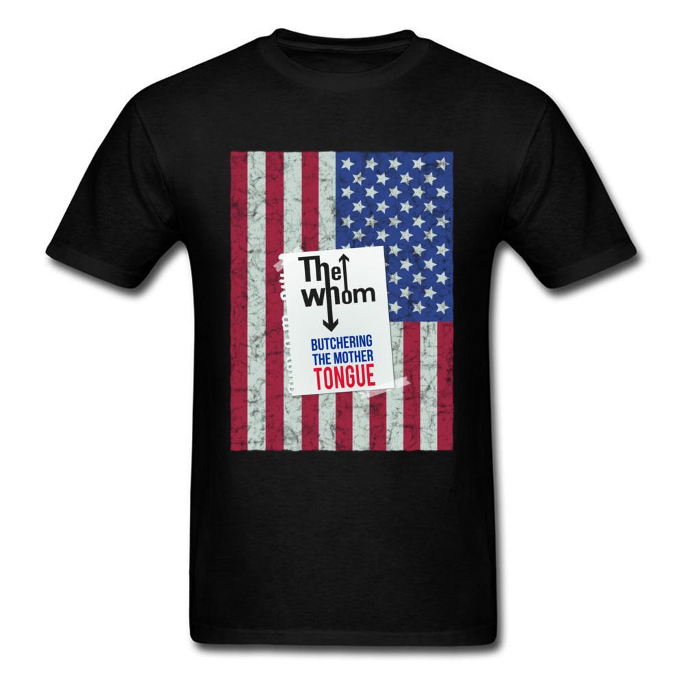 Usa Black Faddish hommes Drapeau Butchering La langue maternelle Imprimer Image S Slim Fit Casual designers hoodie personnalisés t-shirts sweat