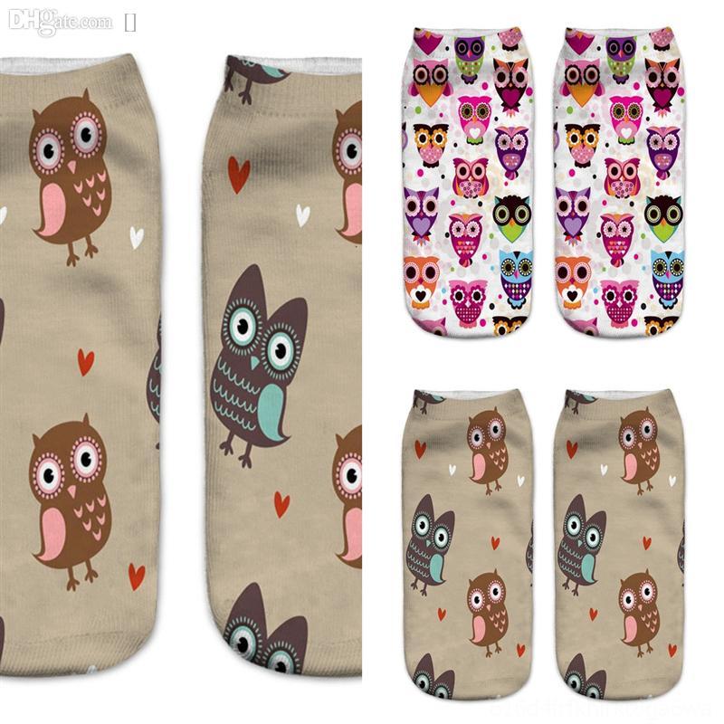 2i6mn jacquard animal impresión estilo artístico calcetines azul calcetines calcetines de calcetín peinado y negro nuevo algodón medio-becerro colorido calcetines felices con