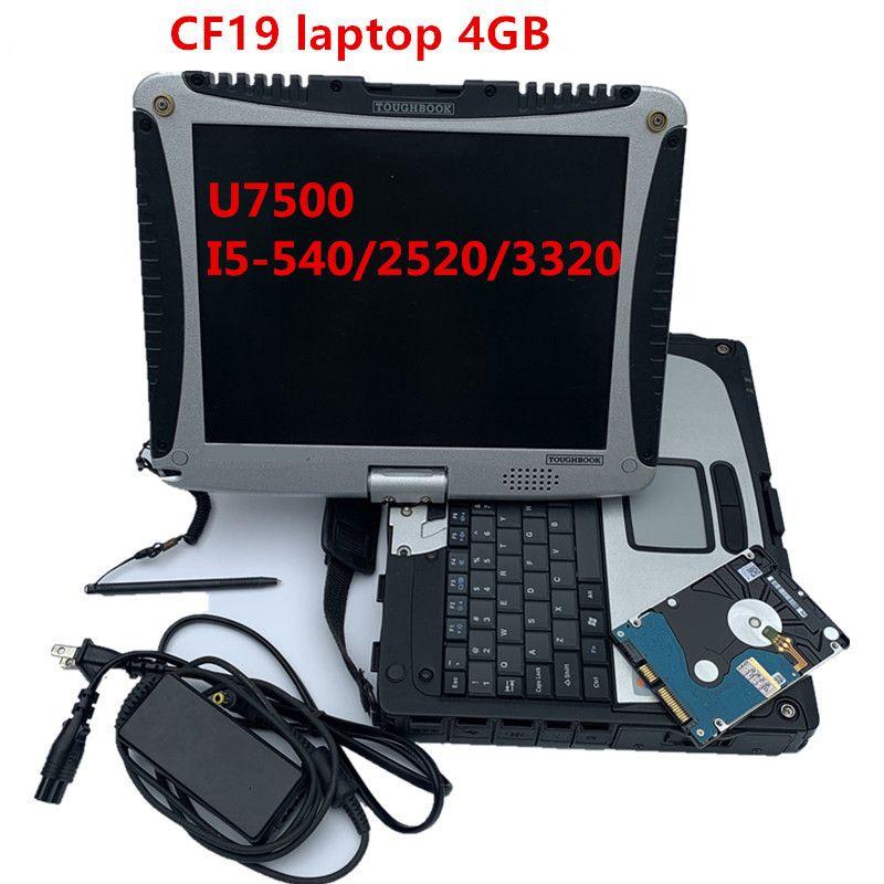 2020 Melhor qualidade Toughbook CF-19 laptop Toughbook para P.anasonic CF trabalho 19 Suporte para MB ESTRELA C4 C5 C6 alldata ferramenta de diagnóstico