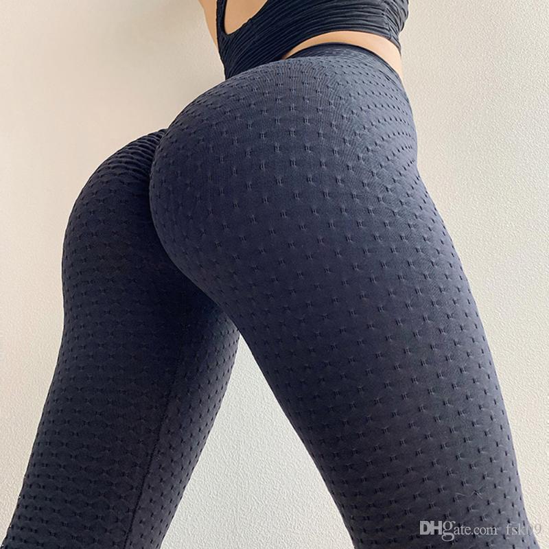 Push up Leggings Women Yoga Leggings Quick Dry High Waist BuLifting Bodycon Solid Color Running Training Gym Sports Pants