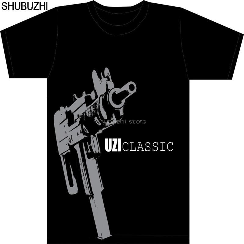 Sport Israel Army T-shirt militare israeliana Idf Camicia - Classico Uzi Camicia - Uzi Does It cotone Ultime O-Collo luce solare maglietta sbz5452
