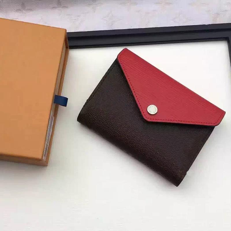 Wholesale nouvelle carte portefeuille portefeuille multicolore portefeuille porte-monnaie classique polychromatique de style porte-pièces de style dame mini fermeture à glissière bnxsa