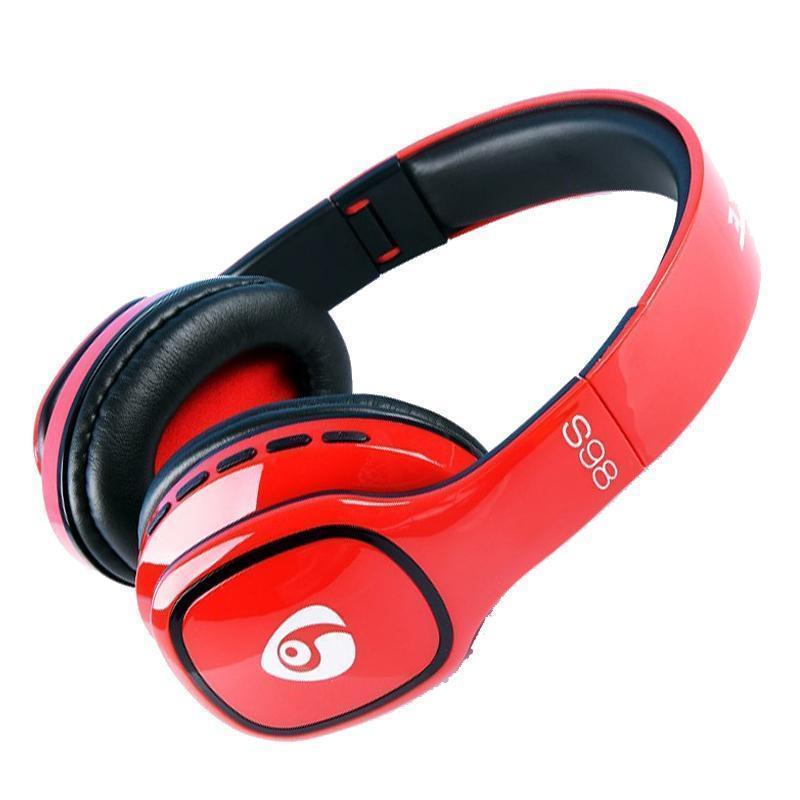 S98 Bluetooth Kopfhörer drahtloser Spiel-Stirnband-Kopfhörer-Freisprecheinrichtung-Spiel-Kopfhörer mit Mikrofon Lautstärkeregler für intelligentes Telefon Pc