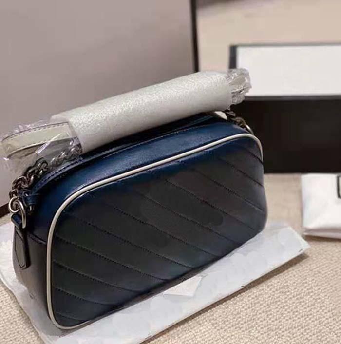 Top Luxury 3a Designer Designer Borse con scatola 24 cm * 15 cm Portafogli da donna Borse a tracolla a soffitto a forma di cuore Catena d'oro Disco a tracolla Borsa a tracolla