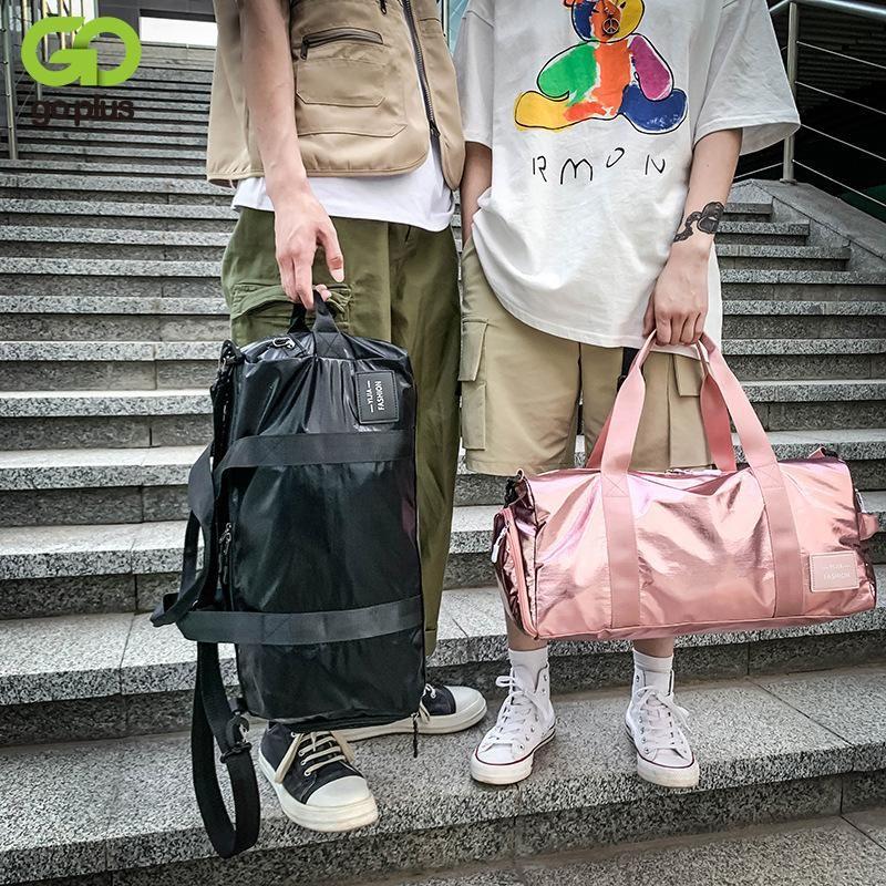 GOPLUS женщины Большого спортивной сумки Фитнес плечо Crossbody сумка Водонепроницаемых спортивные сумки для мужчин Плавательных Йог сумки