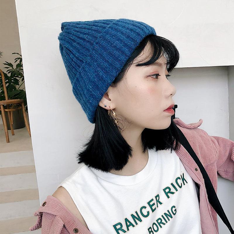New popular winter knitwear hat for women men fall winter sweater hat for men winter Knitted Hat for men and women