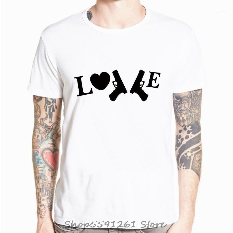 Homens O-pescoço de manga curta tshirt novidade amor amor desenhos animados t-shirt casual legal tshirt streetwear impressão t-shirt homens tops tee1
