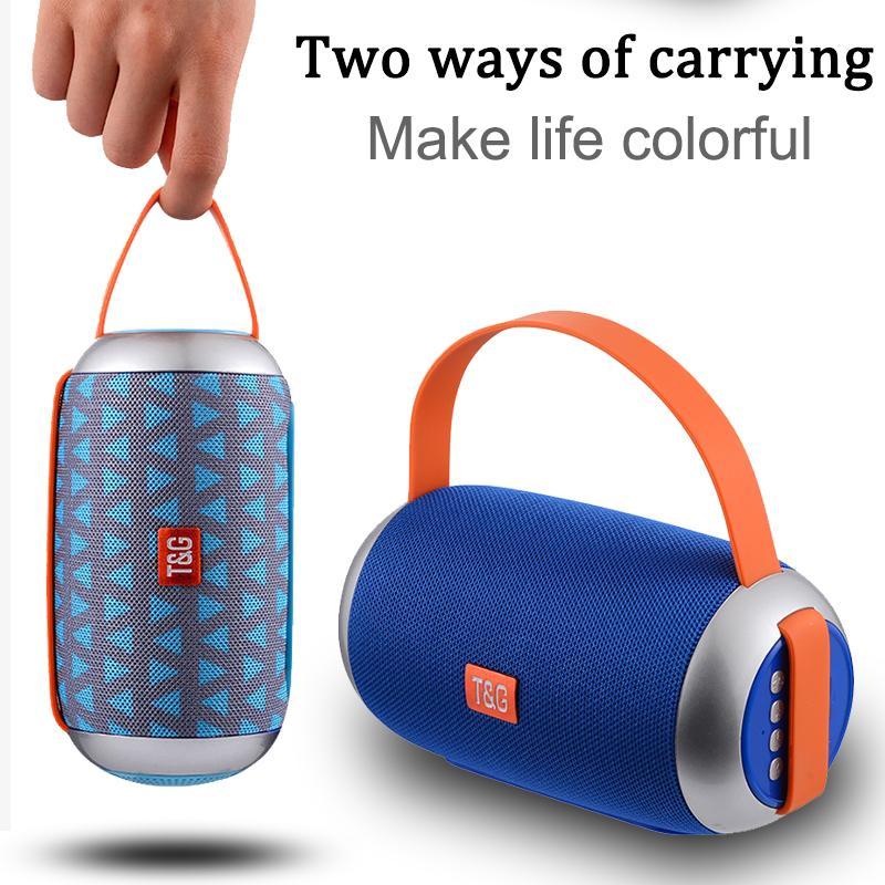 TG112 Drahtlose tragbare Outdoor-Subwoofer-Karte Bluetooth-Lautsprecher, MP3-Mini-tragbare Soundsäule tragbarer Lautsprecher