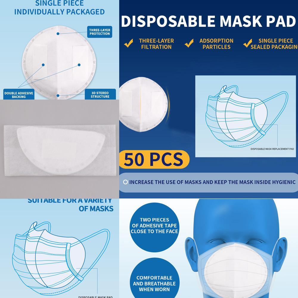 Рта одноразовые 95% лица мужчины женщин активированные 50шт маска 3 слоя дышащая PM2,5 защитный FI WZAB