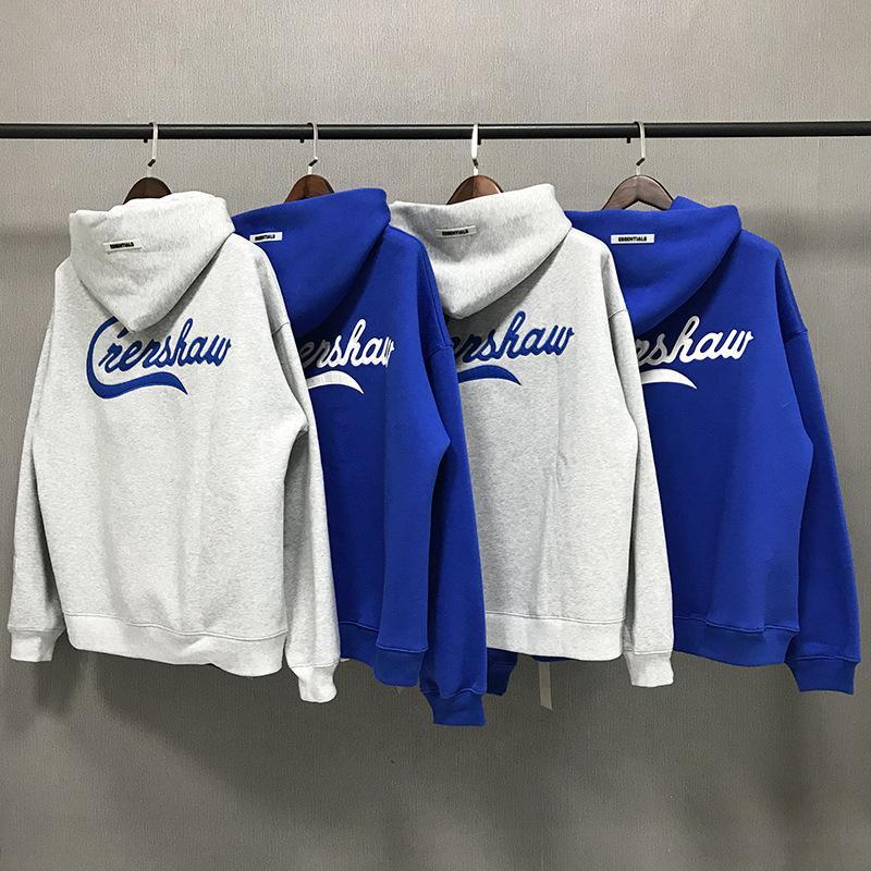 Mode de la peur design God Essentials Haute Limited Joint Sweater Blue Trend La rue Lâche Fog Sweat à capuche haute qualité S-XL KPFF