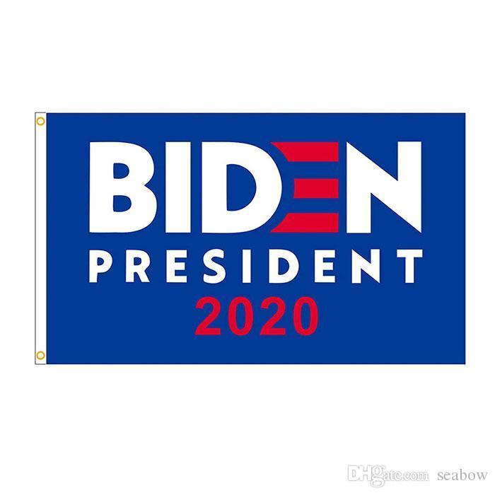 Biden 2020 Flag 3x5 FT Doppel Stitching Banner 90x150cm Partei-Geschenk 100D Polyester Printed Heißer Verkauf!
