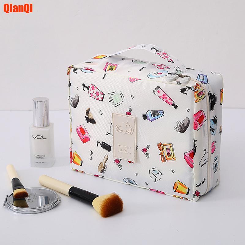 viajes multifunción Bolsa de Cosméticos Neceser maquillaje de las mujeres Bolsas Artículos de higiene femenina Organizador impermeable almacenamiento Maquillaje Casos