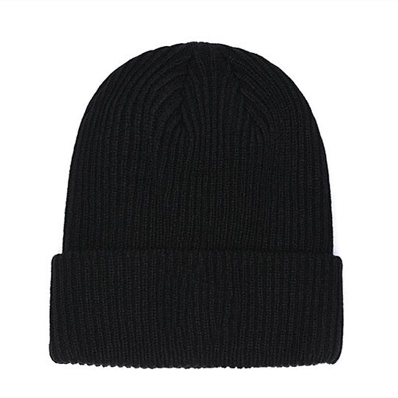 فرنسا أزياء بيني القبعات بونيه الشتاء قبعة محبوك زائد المخملية قبعة skullies سمكا قناع الرجل