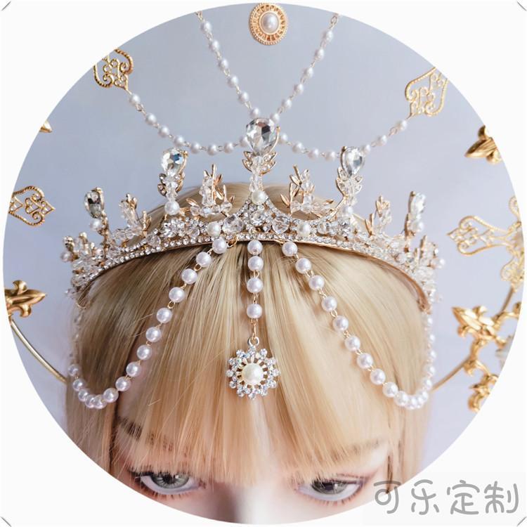 kristal aşk gündelik taç Lolita gelin elmas headdress saç bandı