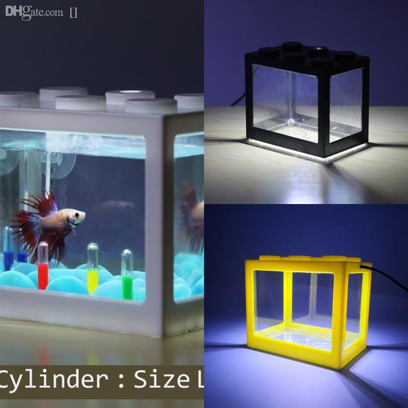 Zi2mm المياه ليغو كتل الحوض ريف تانك المياه خزان الأسماك المياه المشهد سخان مبرد سخان ضوء axolotl الروبيان الأسماك الأسماك بركة