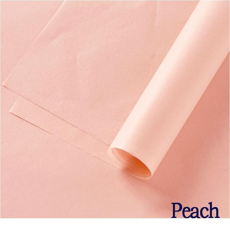 20pcs 70*50cm Floral Wrapping Paper Gift Packaging Paper Valentine's Day Wedding Floral Bouquet Packing Craft Pape bbySwh