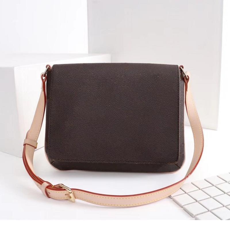 Designer sac à main sacs à main de luxe Brandbody Middle Femmes Tote Épaule Fleur Postman Cuir Sac Real Sac Forfait Sacs APLHS