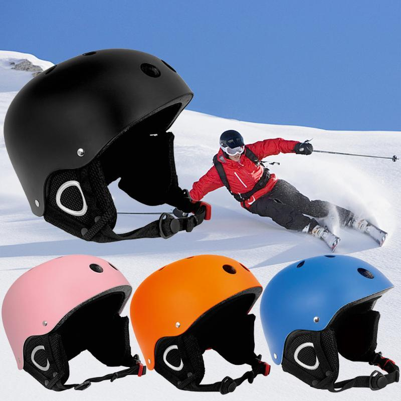 Adultos Resistencia casco protector monopatín Casco Impacto de ventilación de esquí para niños de ciclo de la motocicleta
