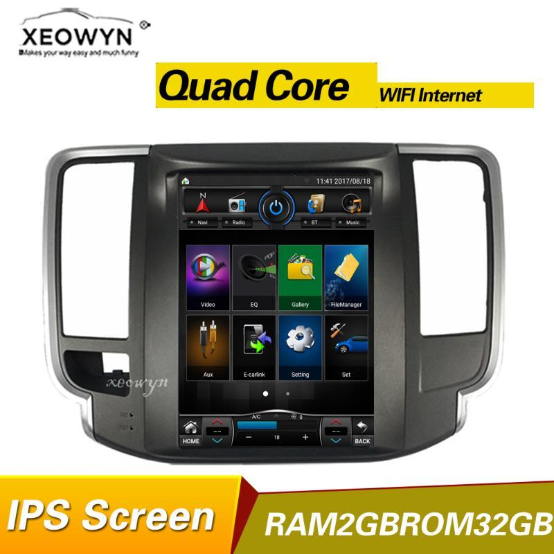 Quad Core 2 GB 10.1 pollici Auto GPS Navigation per Teana J32 2008-2012 WiFi Internet Bluetooth Camera Panoramica posteriore DVD
