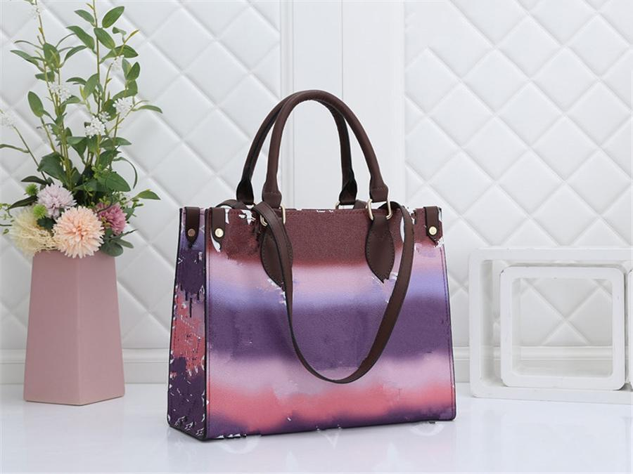 Imprimir Qualicolor High Classic Cloud Handbag Lady Sle Slgung # 72 # 75366666 Bolsa Hombro Hot Bag VDNGA
