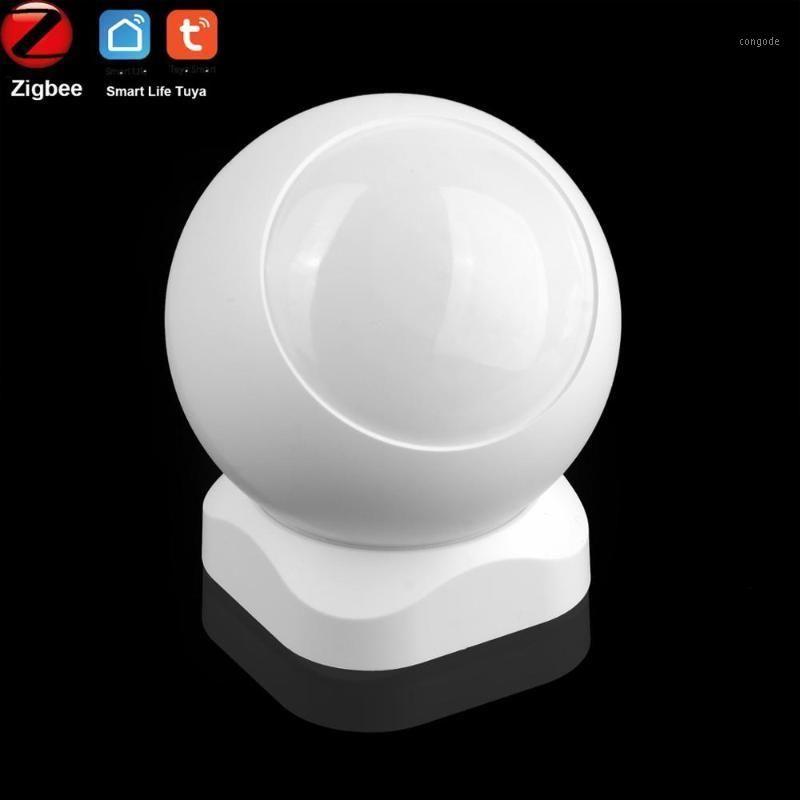Smart Home Sensor Tuya Zigbee Motion Passive Инфракрасный PIR Детектор Безопасность Интрудерная сигнализация с CR123A Battery1