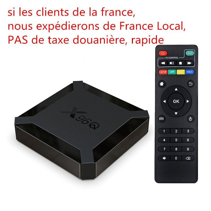Neue Ankunft X96Q TV-Box Android 10.0 H313 2 GB 16GB Smart TV-Box Quad Core 2.4G Wifi 4k Set Top Box