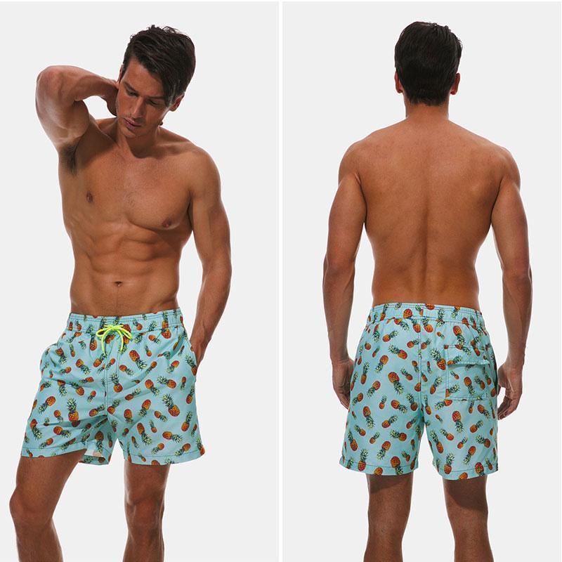 Quick Dry Summer Mens swimwear Mens Beach Board Shorts For Men Swim Trunks Swim Shorts Beach Wear1