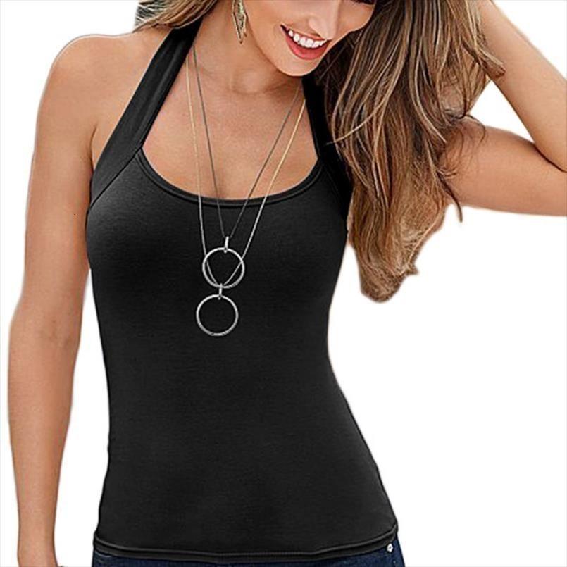 Mulheres moda Vest Top blusa sem mangas Casual Tops camisa da Base Tops Parte inferior da mulher roupas Sexy T