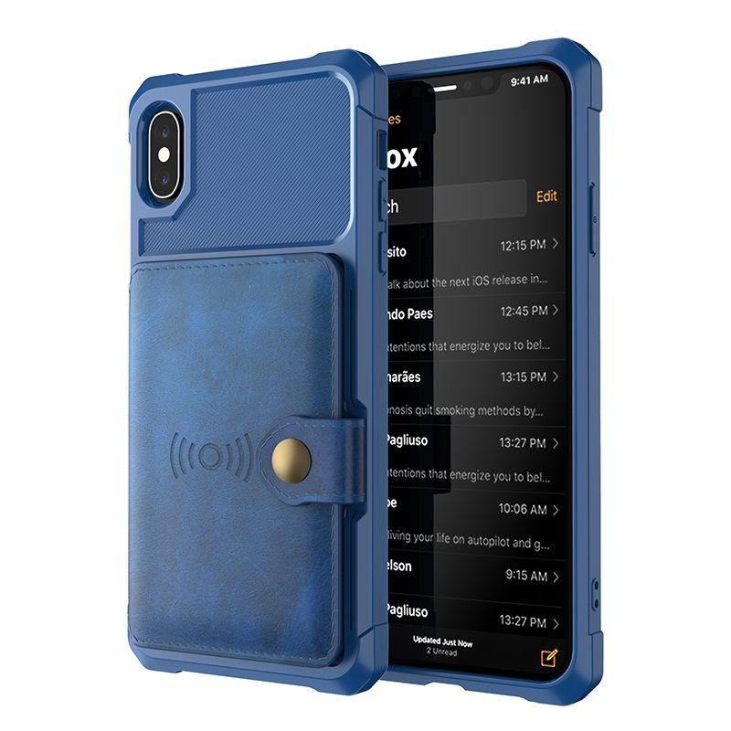 Cubierta de cuero para iPhone11 12PRO MAX XS MAX XR Luxury Teléfono de lujo para iPhone 7 8 Plus