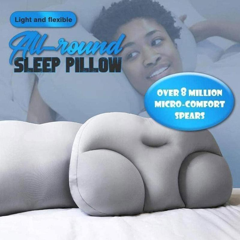 All-round Sleep Pillow Cloud Pillow Neck Support Butterfly Shaped Ergonomic Foam Soft Orthopedic Neck