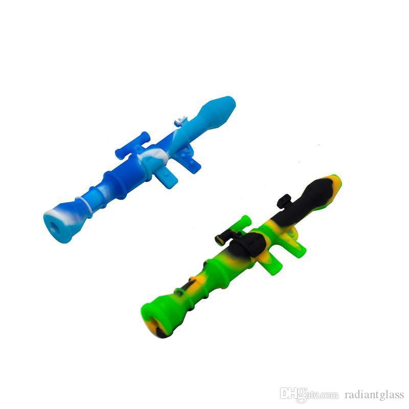 Coletores de tubos Mini néctar tubos de água com titânio Prego 10mm Concentrado Dab Palha Silicone Petróleo