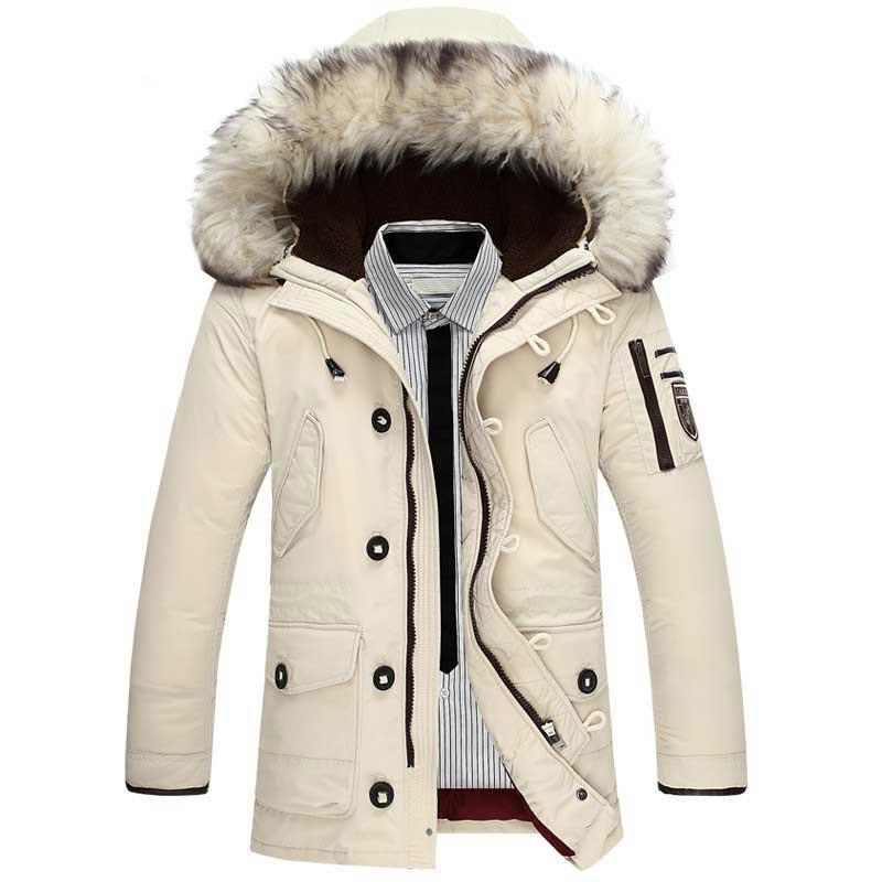 Down Jacket Men 90%Duck Down Warm Winter Jackets Men Fashion Casual Hooded Thick Warm Windproof Outerwear Down Coats 201022