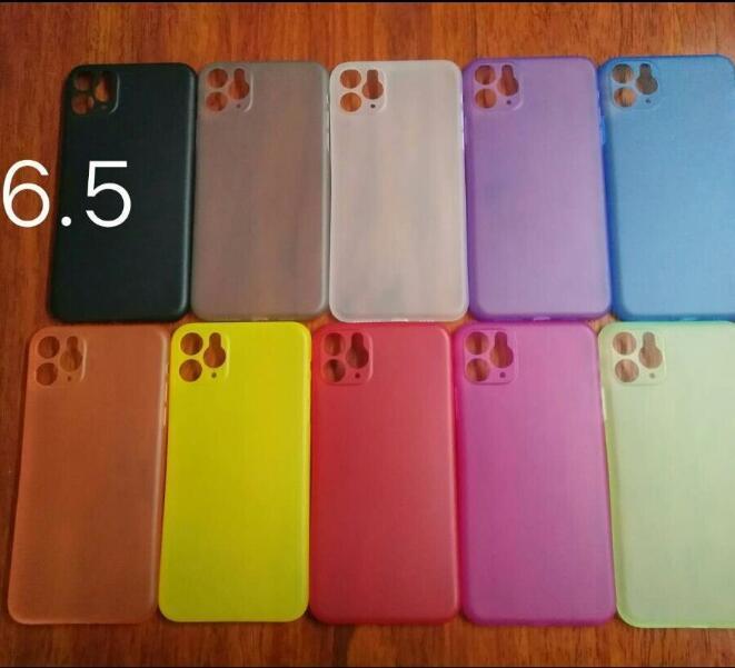 0.3mm Ultra Thin Тонкий матовый матовый Телефон Полный Дело Coveraged Гибкий PP Крышка для iPhone 12 MINI 11 Pro MAX X XS XR 8 7 Plus SE DHL