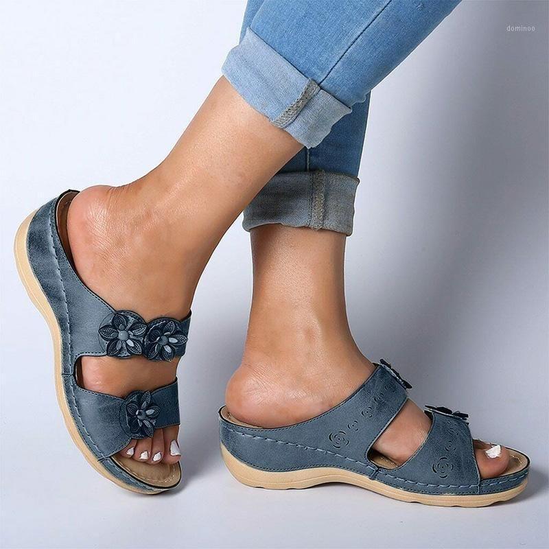 Summer Fashion Fancy Sandals Breathable Anti-slip Slipper for Women Lady Beach H91