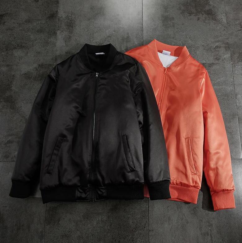 Мода Письмо вышивки Mens женщины Дизайн куртка пальто зима Windbreak Толстовка Повседневных Мужчины Женщина Пара Streetwear Baseball Jacket M-3XL