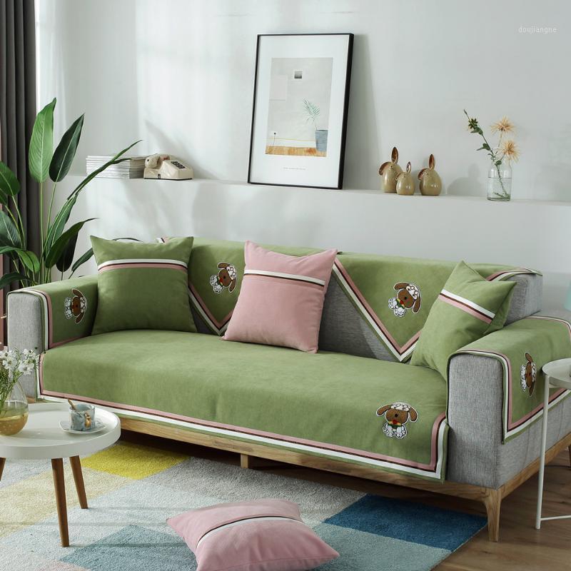 Elegante Drucken Sofa Cover Sessel Slipcover für Wohnzimmer 1/2/3/4 Sitzcouch Hüllen Staubdichte Sofas Handtuch für Haustiere Kind Kinder1