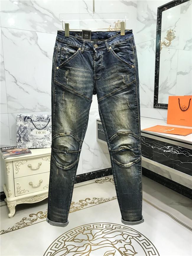 Прибытие GST-джинсы мужские дизайнерские джинсы Мода Ripped Байкер Slim Fit Мотоцикл Байкер Zipper конструктора Hot Hip Hop Продажа джинсовой США Размер 29-40