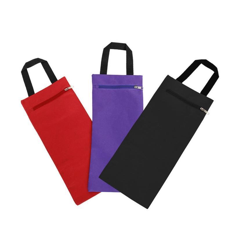 Pieghevole Yoga Riempito Sandbag con maniglia per pesi di yoga e allenamento di resistenza Moda Tela ponderati Sandbag