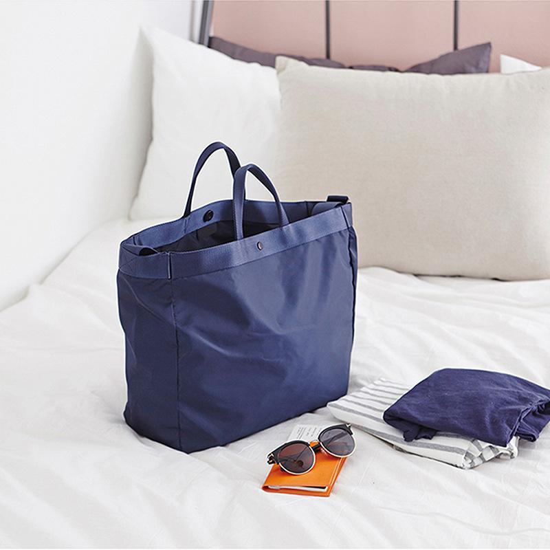Novos Impermeável Grande Travel Bag portáteis Big Duffle Bag Mulheres Bandoleira Sacos Viagem Organier sacos de ombro-de-semana Viagem Totes