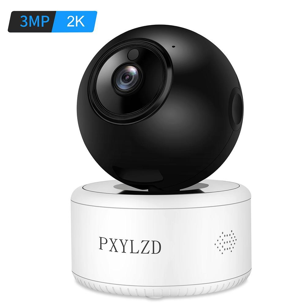 3MP 2 K IP Kamera Wifi Ev Güvenlik Kamera H.265X Depolama HD Gece Görüş AI Humanoid Algılama Video Gözetim Bebek Monitörü LJ201209